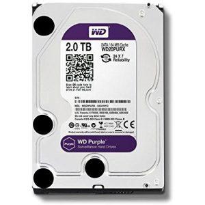WD 2TD Purple