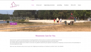 Website Woonvorm care for you