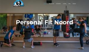 Website Personal Fit Noord