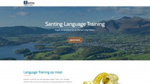 Website Santing Language training