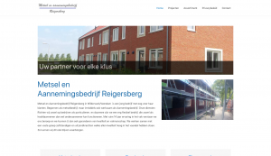Website Metsel bedrijf reigersberg