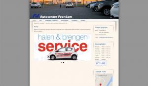 Website Auto center veendam